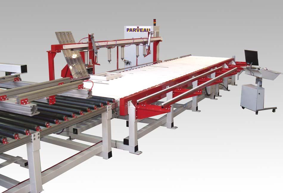 Ficheuse automatique en ligne ref af01 machines pvc for Menuiseries pvc en ligne